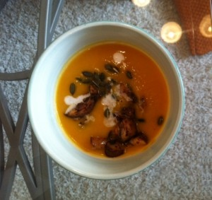 I was inordinately proud of this soup...